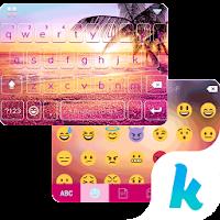 Sunset Beach Kika Keyboard For PC (Windows And Mac)