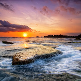 Menghening Beach - Bali by Ichsan Photoworks II - Landscapes Sunsets & Sunrises