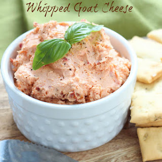 Sun Dried Tomato Whipped Goat Cheese
