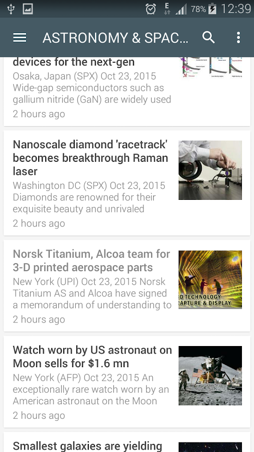 Science News Online Screenshot 4