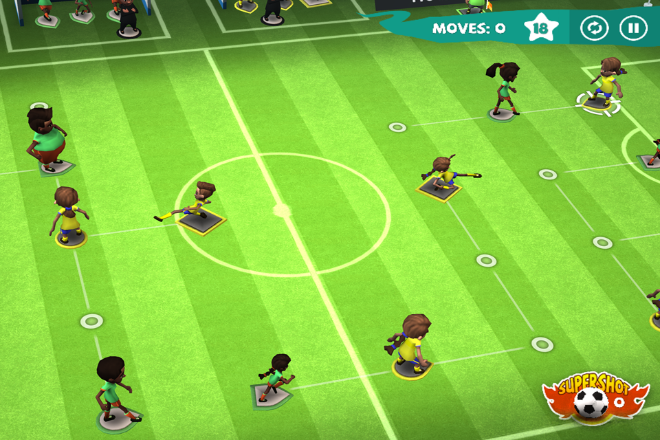 Find a Way Soccer: Women's Cup Screenshot 2