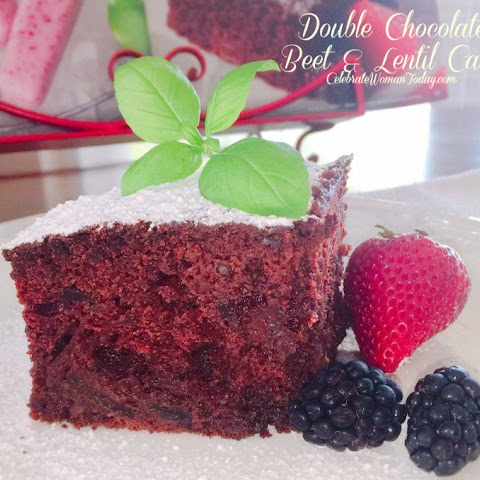 Double Chocolate Beet & Lentil Cake