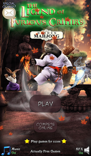 Hidden Mahjong Furious Critter - screenshot