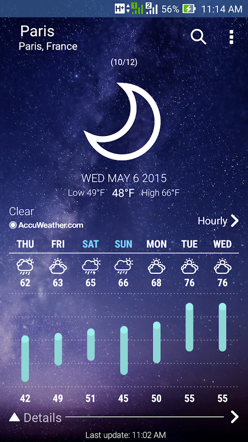 ASUS Weather Screenshot 4