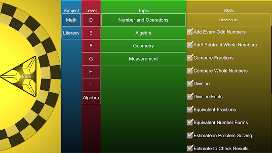 Velocity for Math & Literacy - screenshot