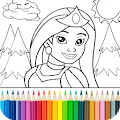 Game Princess Coloring Game APK for Kindle