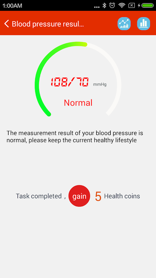 iCare Blood Pressure Pro Screenshot 3