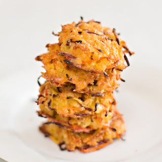 PANKO CARROT CHEDDAR PATTIES