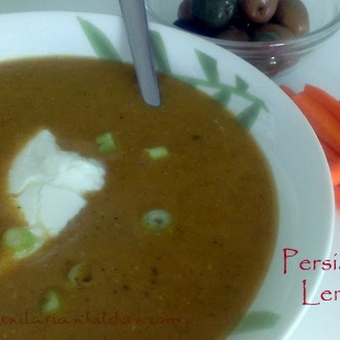 Persian Inspired Lentil Soup