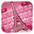 Pink Paris Keyboard APK for Bluestacks