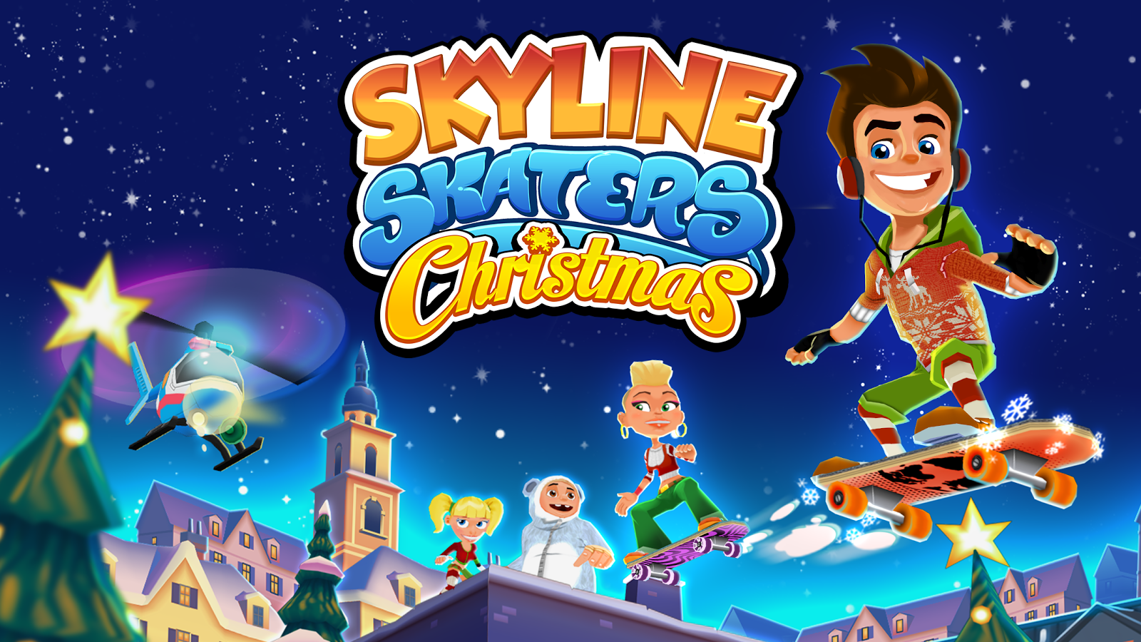 Skyline Skaters Screenshot 0