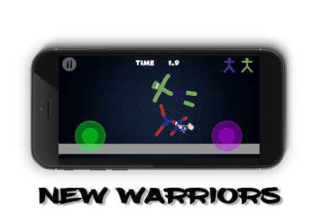 Stickman Warriors 4 Online Screenshots