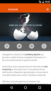 Insem SpA - screenshot