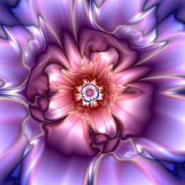 Flower 15 by Cassy 67 - Illustration Abstract & Patterns ( abstract, wallpaper, bloom, digital, modern, abstract art, digital art, harmony, fractal, flowers, fractals, flower, floral, energy )