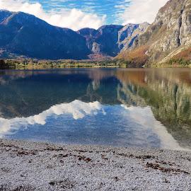 Lake Bohinj 2 by Igor Gruber - Landscapes Beaches