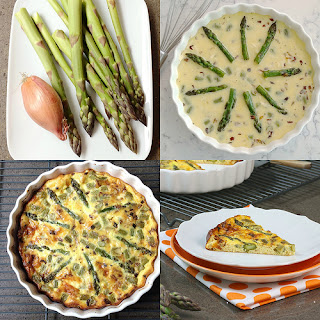 Vegetarian Quiche Asparagus Recipes
