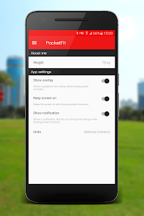 PocketFit for Pokémon GO Screenshot