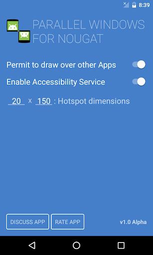 Parallel Windows for Nougat screenshot 1