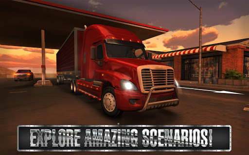 Truck Simulator USA screenshot 14
