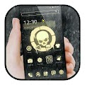 Skull Cool Black Gold