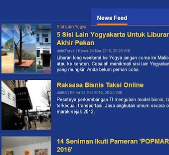 Detik Viva Tribun News - screenshot