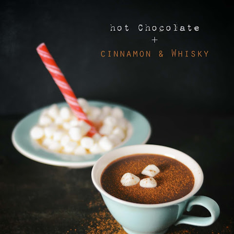 Hot Chocolate With Cinnamon And Whisky