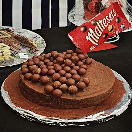Malteser cake by Sue Bernhard - Smith - Food & Drink Cooking & Baking ( cake, chocolate, malteser )