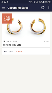 Fortuna Jewelry Auction - screenshot