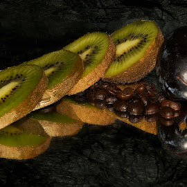 fruits with coffe by LADOCKi Elvira - Food & Drink Fruits & Vegetables
