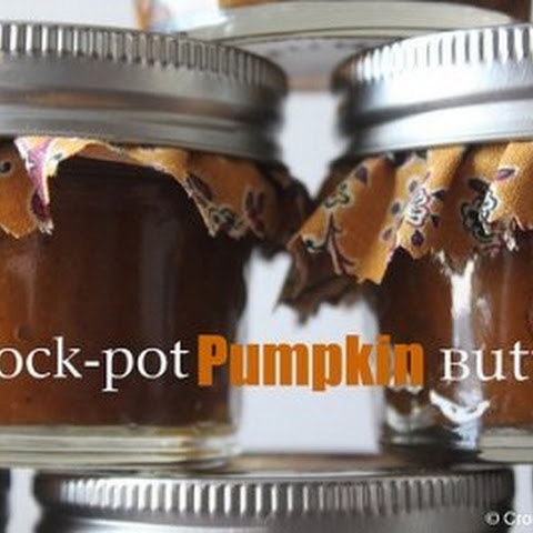 Crock-Pot Pumpkin Butter