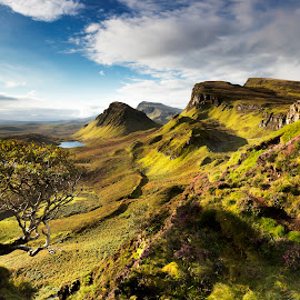 The Quiraing by Richard Armstrong - Landscapes Mountains & Hills ( scotland, mountains, the quiraing, isle of skye, stafan )