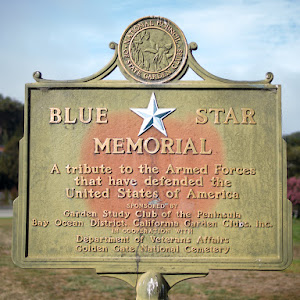 National Council of State Garden Clubs Blue Star Memorial A tribute to the Armed Forces that have defended the United States of America Sponsored By Garden Study Club of the Peninsula Bay Ocean ...