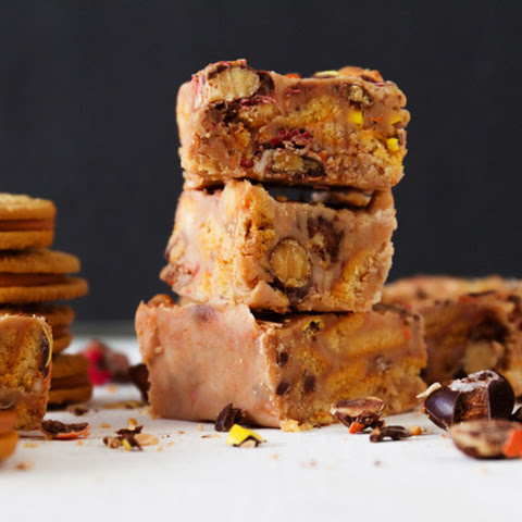 Pumpkin Spice Oreo Fudge