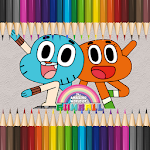 Coloring Gumball : The Amazing World of Gumball