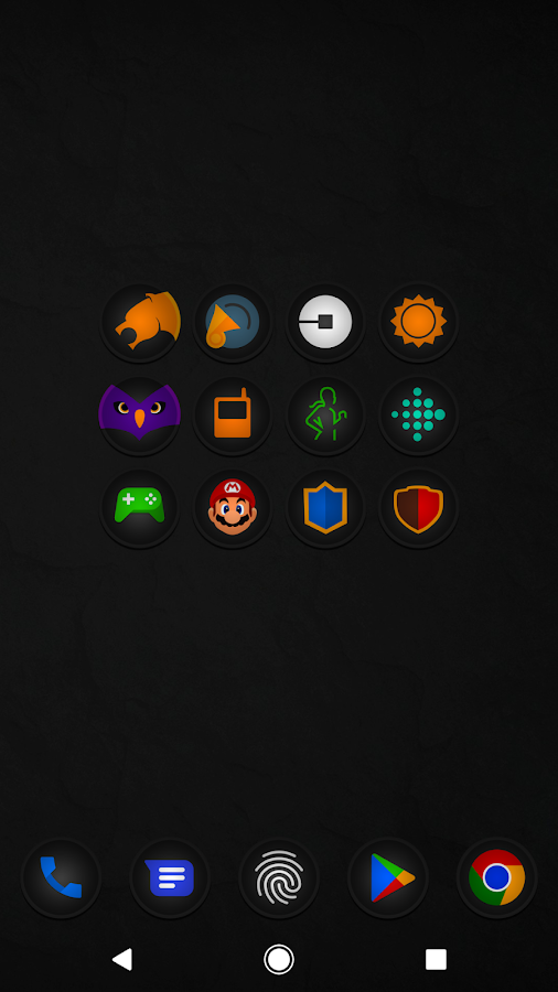 Stealth Icon Pack Screenshot 7