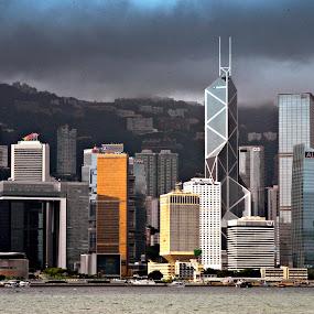 Hongkong Island by Silvano Rikiputra II - Buildings & Architecture Office Buildings & Hotels