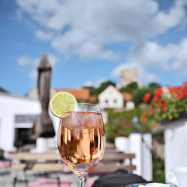 Summer drink by Miro Trimay - Food & Drink Alcohol & Drinks ( wine, holliday, drink, summer, rest )