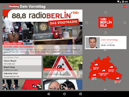 Screenshot of radioBerlin 88,8