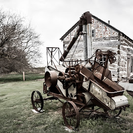 Heritage Center by Mike Hotovy - Artistic Objects Antiques