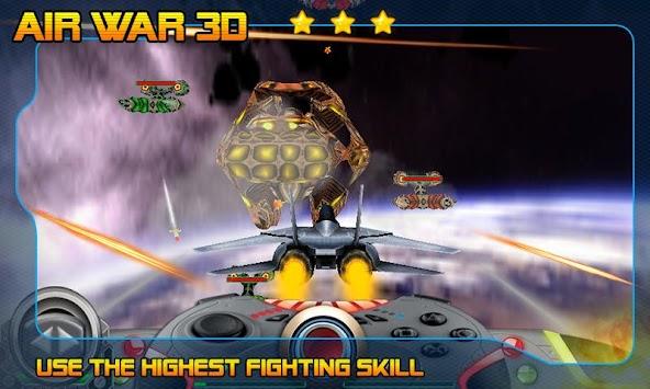 Air War Battle 3D apk screenshot