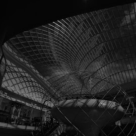 Chadstone Melbourne by Steve Cooke - Black & White Buildings & Architecture