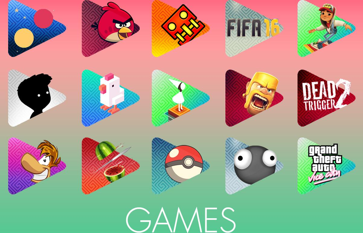 Playcons Icon Pack! Screenshot 2