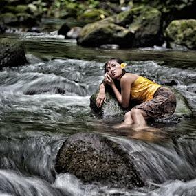 River Beauty by Mario Wibowo - People Fashion ( bali, 2012, lfcn )