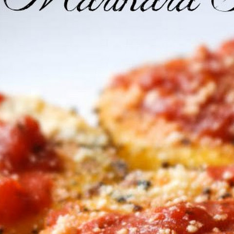 Sauteed Polenta with Marinara