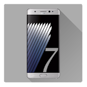 Stock Note 7 Launcher Theme for Lollipop - Android 5.0