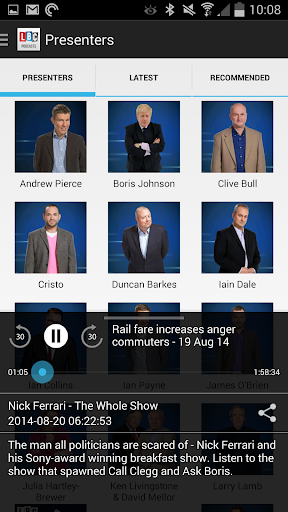 LBC Podcasts - screenshot