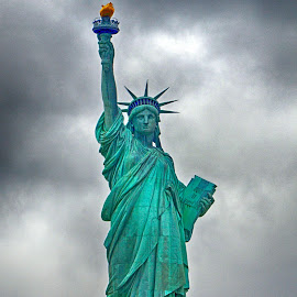 Statue of Liberty by Pravine Chester - Buildings & Architecture Statues & Monuments ( statue of liberty, statue, monument, new york, architecture, usa, photography )