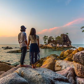 Love Island, Penang. by Lim Keng - People Couples