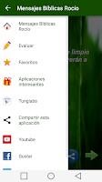 Screenshot of Rocío Mensaje Bíblico