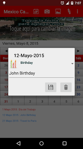 mexico-calendario-2015 for android screenshot
